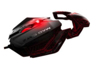 Mad Catz RAT 1 Gaming Maus im Angebot bei Real [KW 4 ab 22.1.2018]