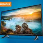 Medion Life X14900 Ultra-HD Smart-TV Fernseher im Angebot bei Hofer 11.1.2018 - KW 2