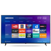 Medion Life X16515 MD31281 Ultra-HD Smart-TV Fernseher im Aldi Süd / Hofer Angebot