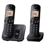 Panasonic KX-TGC222GB Duo DECT-Telefon bei Kaufland 1.2.2018 - KW 5