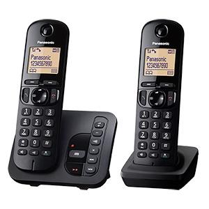 Panasonic KX-TGC222GB Duo DECT-Telefon im Angebot bei Kaufland [KW 5 ab 1.2.2018]