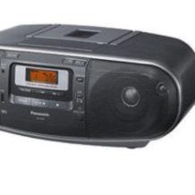 Panasonic RX-D50EG-S Stereo-CD-MP3-Radiorecorder im Real Angebot