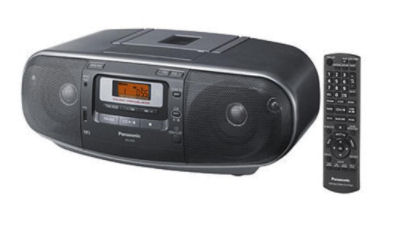 Panasonic RX-D50EG-S Stereo-CD-MP3-Radiorecorder bei Real ab 15.1.2018 erhältlich