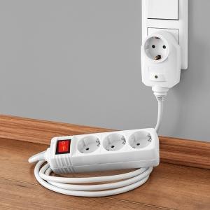 PowerTec Electric 3-fach und 6-fach Tischsteckdose im Angebot bei Norma [KW 5 ab 29.1.2018]