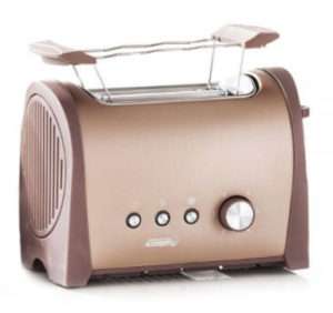 PowerTec Kitchen Supreme Edelstahl-Toaster