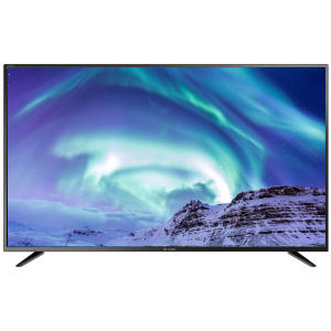 Real 6.8.2018: Sharp LC-55CUG8052E Ultra-HD-LED-TV Fernseher im Angebot