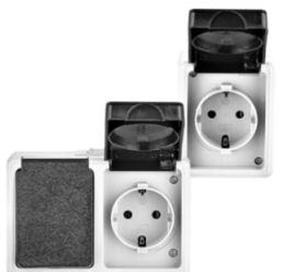 Top Craft Feuchtraum-Schalter und -Steckdosen