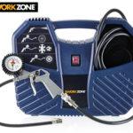 Hofer 8.4.2019: Workzone Mobiler Kompressor im Angebot