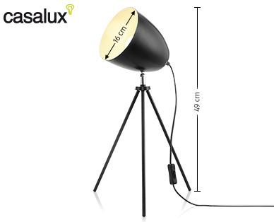Casalux Retro-Tischleuchte im Aldi Süd Angebot