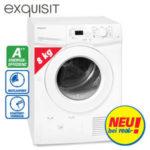 Exquisit TWP 801-3 A++ Wärmepumpentrockner: Real Angebot ab 11.2.2019