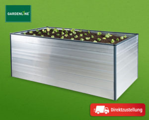 Gardenline Hochbeet Aluminium
