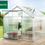 Gardenline Profi-Gewächshaus im Angebot bei Aldi Schweiz + Hofer 20.2.2020 - KW 8