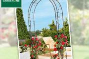 Gardenline-Rosenbogen