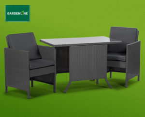 Hofer Gardenline Lounge-Set 3-teilig