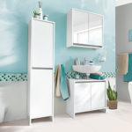 Living Style Badezimmer-Set 3-teilig im Angebot bei Aldi Süd 12.2.2018 - KW 7