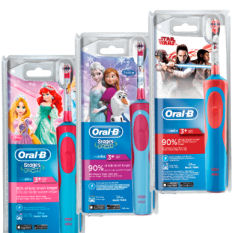 Oral-B Stages Power Elektrische Kinder-Zahnbürste