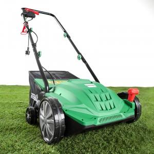 PowerTec Garden Elektro-Vertikutierer und Rasenlüfter