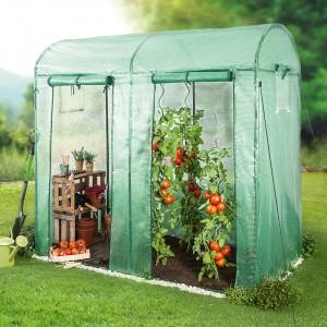PowerTec Garden Tomatengewächshaus mit 2 Toren