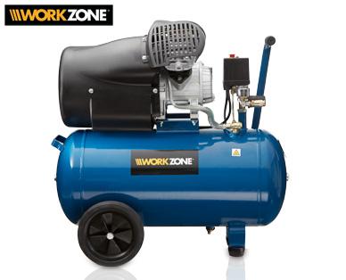 Workzone 50 Liter Kompressor im Aldi Süd Angebot [KW 9 ab 26.2.2018]