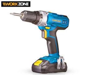 Workzone Li-Ion-Akku-Bohrschrauber