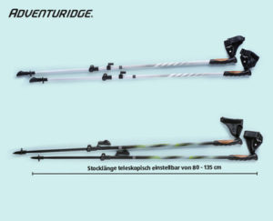 Adventuridge Nordic-Walking-Stöcke