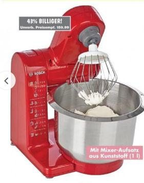 Bosch MUM4409 Küchenmaschine im Kaufland Angebot
