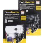 Cyclemaster LED-Fahrrad-Lampenset im Angebot bei Aldi Nord 8.4.2020 - KW 15