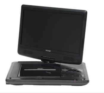 Real: Denver MT-1080T2H Tragbarer TV- und DVD-Player im Angebot