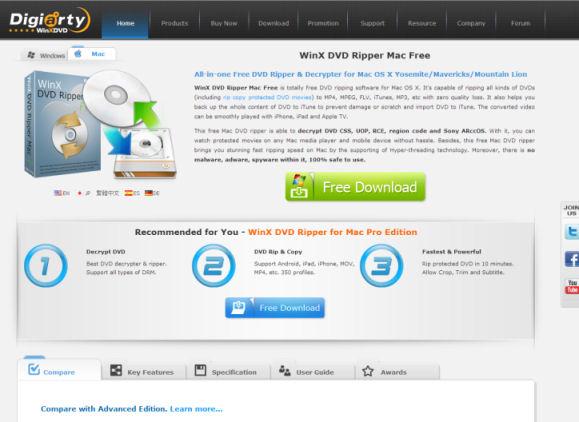 [Werbung] WinX DVD Ripper für Mac und PC - Die All-in-One-Lösung fürs Rippen und Konvertieren