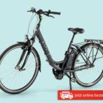 Hofer: E-City E-Bike mit Mittelmotor 28-Zoll im Angebot