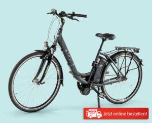 E-City E-Bike mit Mittelmotor 28-Zoll