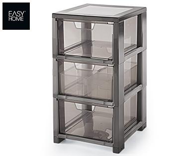 Easy Home Schubladenturm aus Kunststoff im Aldi Süd Angebot [KW 13 ab 26.3.2018]