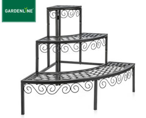 gardenline blumentreppe im aldi s d angebot kw 12 ab 22. Black Bedroom Furniture Sets. Home Design Ideas