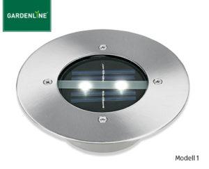 Gardenline LED-Solar-Bodenleuchte