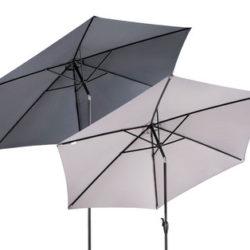 Hofer 21.3.2019: Gardenline Sonnenschirm 3 Meter im Angebot