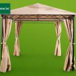 Gardenline Stahl-Pavillon im Angebot bei Hofer 9.4.2020 - KW 15
