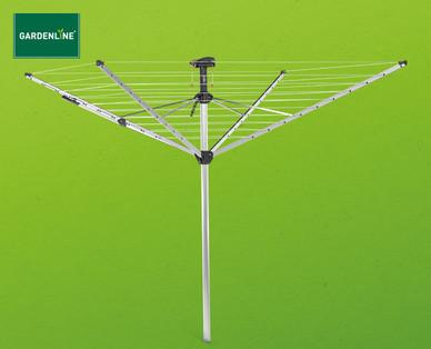 Gardenline Wäschespinne mit Schutzhüllen-Automatik