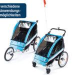INOC Kinder-Fahrradanhänger im Angebot bei Hofer - Schnell zugreifen
