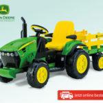 John Deere Elektro-Traktor im Angebot bei Hofer 1.4.2019 - KW 14