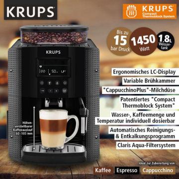 Norma 14.3.2018: Krups EA815B Kaffeevollautomat im Angebot