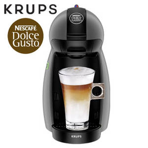 real nescafe dolce gusto kapseln mit krups picollo kp100b kapselmaschine im extrablatt kw 10. Black Bedroom Furniture Sets. Home Design Ideas