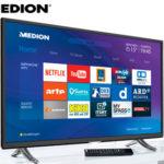 Medion Life X16015 MD 31174 Ultra-HD Smart-TV Fernseher im Angebot bei Aldi Süd 3.11.2016 - KW 44
