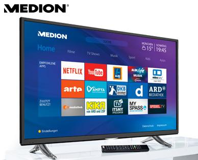 Medion Life X16015 MD 31174 Ultra-HD Smart-TV Fernseher im Aldi Süd Angebot