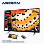 Medion Life X18068 Ultra HD Smart-TV Fernseher im Angebot bei Aldi Süd 1.12.2016 - KW 48