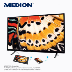 Medion Life X18068 Ultra HD Smart-TV Fernseher im Aldi Süd Angebot