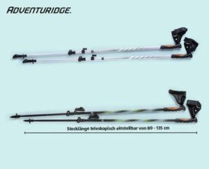 Adventuridge Nordic-Walking-Stöcke: Hofer Angebot ab 13.9.2018 - KW 37