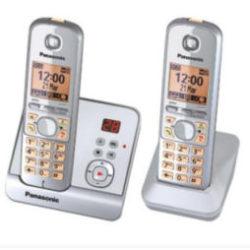 Panasonic KX-TG6722 Duo Schnurlos-DECT-Telefon im Angebot | Real 28.10.2019 - KW 44
