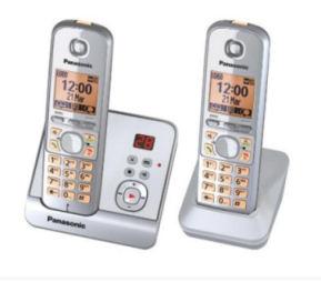 Panasonic KX-TG6722 Duo Schnurlos-DECT-Telefon