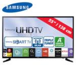 Samsung UE55JU6050 55-Zoll Ultra-HD Fernseher im Angebot bei Real 22.8.2016 - KW 34