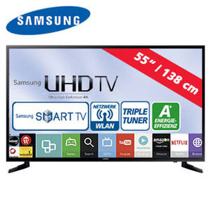 Samsung UE55JU6050 55-Zoll Ultra-HD-LED-TV Fernseher bei Real erhältlich